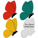 Butterfly- Style 1 Precut Fusible Glass Shapes 96 COE