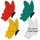 Butterfly- Style 2 Precut Fusible Glass Shape 96 COE