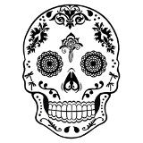Decal, Sugar Skull