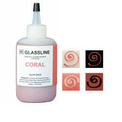 Glassline Fusing Paint Pen Coral