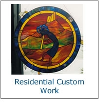 Custom Residential Stained Glass