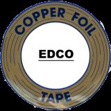 Edco 7//32 Copper Foil 1.0 Mil 2 Pack Black Back Thick
