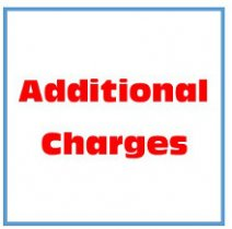 Additional Charges