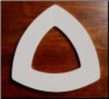 Triangle Drop Ring Mold 8.5 inch