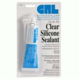 Clear Silicone Sealant 3 OZ
