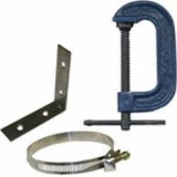 MAPP Gas Canister Holder and Clamp