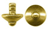 Bead Capper Gold Plated