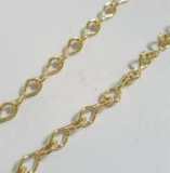 Brass Jack Chain 18 Gauge