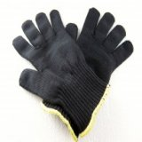 Black Kevlar Gloves, Size Medium