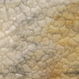 Kokomo Amber, Gray, And White Wavolite Textured Art Glass