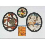Images by Terra IM1024 Patterns - Wheat, Deer, Squirrel, Cardinal