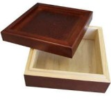 "6"" Rosewood Tile Box"