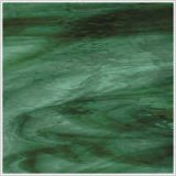 Oceanside Deep Olive Green With Sea Green Transparent Streaky Waterglass
