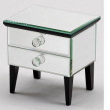 Vesta Two Drawer Mirror Box