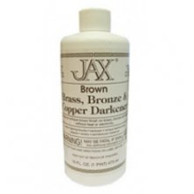 Jax Brown Patina for Brass, Bronze, or Copper