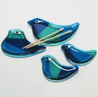 Fun Night Out Bird Sushi Dish Set August 27