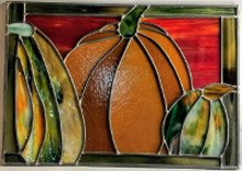 Stained Glass Lead Came Class - Pumpkin Panel 5 Weeks Starting Sept 9
