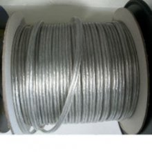 Silver Electrical Lamp Cord