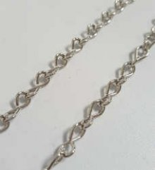 Nickel Jack Chain 18 Gauge