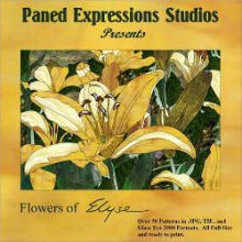 Paned Expressions Studios Flowers of Elyse CD
