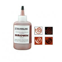 Glassline Fusing Paint Pen Brown