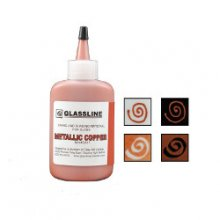 Glassline Fusing Paint Pen Metallic Copper