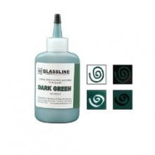 Glassline Fusing Paint Pen Dark Green