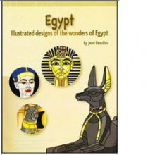 Egypt Stained Glass Pattern Book