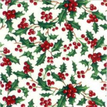 Holly Berry Decal