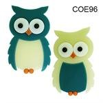 Owl Precut Fusible Glass Shape 96 COE