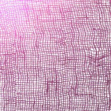 Purple Cheesecloth on Clear Dichroic Glass 96 COE