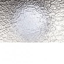 Clear Textured Arctic Glass