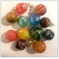 Fun Night Out Blown Glass Ornaments Many Classes