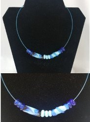 Fun Night Out Glass Bead Necklace Friday August 14, 2020