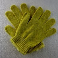 Yellow Kevlar Gloves  Size Medium