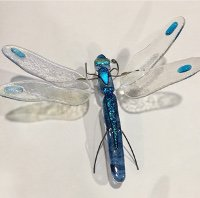 Fun Night Out Fused Dragonfly