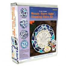 Starry Night Mosaic Stepping Stone Kit