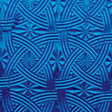Kokomo Blue Celtic Cathedral Textured Art Glass