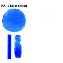 Northstar Glassworks 019 Light Cobalt Blue Rod 33 COE