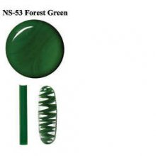 Northstar Glassworks 053 Forest Green Rod 33 COE