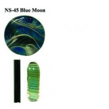 Northstar Glassworks 045 Blue Moon Rod 33 COE
