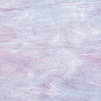 Oceanside Pale Lavender With White Fusible Glass
