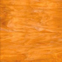 Oceanside Light Amber with White Translucent Art Glass