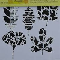 Leaf Collection Fusing Stencil