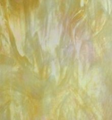 Wissmach Beige Opal Iridized Glass