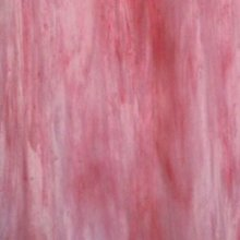 Wissmach Pink and White Wispy Opal Glass