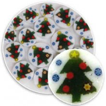 Christmas Tree Millefiori 96 COE