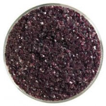 Bullseye Deep Plum Transparent Frit Medium 90 COE