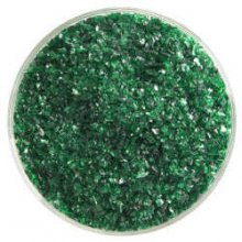 Bullseye Kelly Green Transparent Frit Medium 90 COE