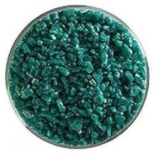 Bullseye Kelly Green Transparent Frit Coarse 90 COE